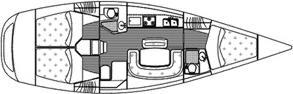 Yacht Grand Soleil 40 in Castiglione della Pescaia leihen-31220-0
