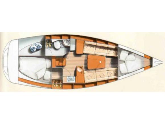 Segelyacht Hanse 311 Yachtcharter in Marina Kröslin-31137-0
