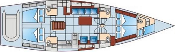 Segelboot Hanse 540e in Bodrum Marina Milta ausleihen-30398-0