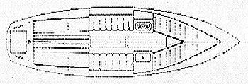 Segelyacht Jakon 1 in Marina Naarden leihen-30170-0