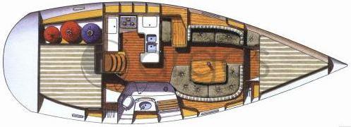 Segelyacht Oceanis 361 in Marina Verolme mieten-28877-0