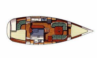 Segelyacht Oceanis 36 CC in Bodrum Marina Milta leihen-35132-0