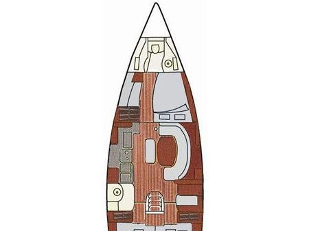 Segelyacht Oceanis 411 in Marina Seget Donji leihen-71204-0