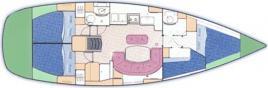 Segelboot Oceanis 411 in Primosten ausleihen-28704-0