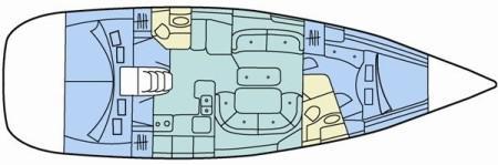 Yacht Oceanis 473 in Orhaniye leihen-71190-0