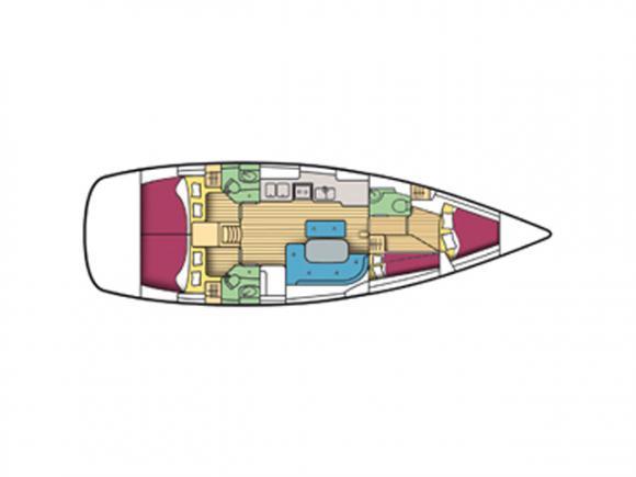 Segelboot Oceanis 473 Clipper chartern in Genoa Hafen-29147-0