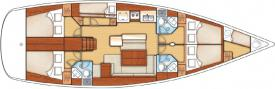Segelboot Oceanis 50 Family in Sukosan Bibinje ausleihen-29479-0