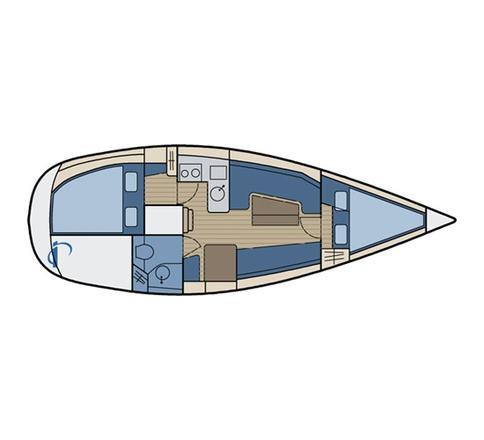 Sun Light 31 Segelyacht Charter Dyvig-28420-0