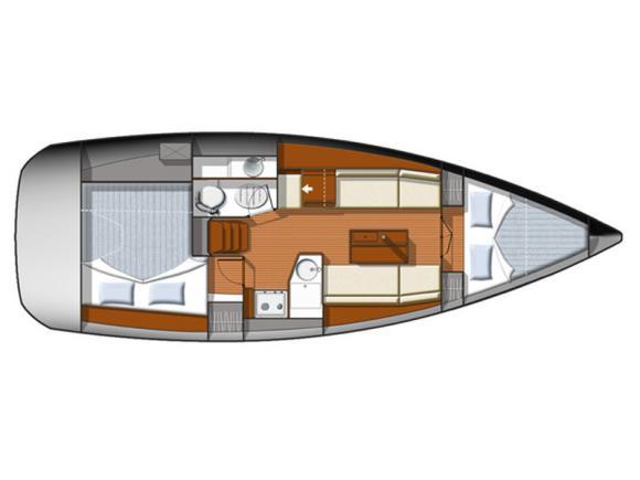 Yacht Sun Odyssey 33i chartern in Castiglione della Pescaia-71365-0