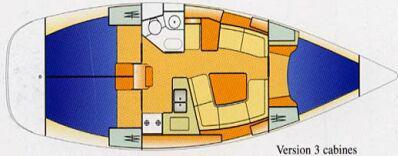 Yacht Sun Odyssey 37 in Rio Marina leihen-30449-0