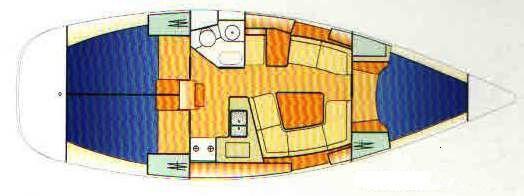 Segelboot Sun Odyssey 37 in Bodrum Marina Milta chartern-35151-0
