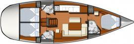 Yacht Sun Odyssey 44i in Bodrum leihen-28423-0
