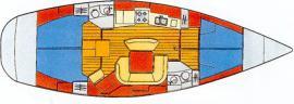 Yacht Sun Odyssey 45.2 in Netsel Marmaris Marina leihen-29192-0-0
