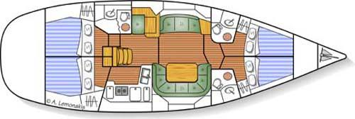 Yacht Sun Odyssey 49DS in Ermoupoli chartern-71307-0