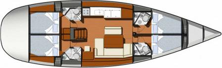 Segelyacht Sun Odyssey 49i in Ermoupoli chartern-71367-0