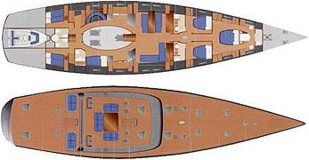 Segelyacht Wally 106 in Macinaggio mieten-29528-0