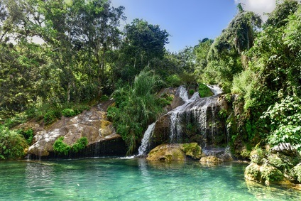 Cuba Yacht Vacations - TOP Places to visit - El Nicho Waterfalls | YACHTICO.com